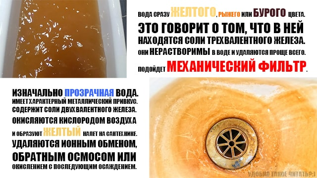 Удаление железа из воды - одна из самых непростых задач. Повезло, если это нерастворимая форма железа.